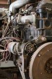Oude motor Royalty-vrije Stock Afbeeldingen