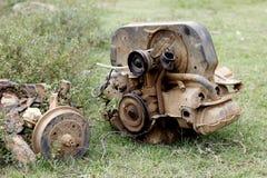 Oude motor Royalty-vrije Stock Foto