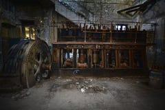 Oude motor Stock Foto's