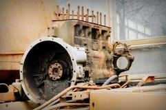Oude motor Royalty-vrije Stock Fotografie
