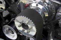 Oude motor van een auto Stock Afbeelding