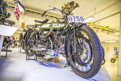 Oude motorfiets, bsa Engeland van 1921 Stock Afbeelding