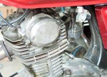 Oude motorfietsmotoren Stock Afbeelding