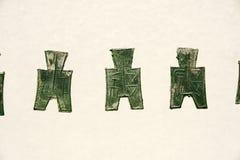 Oude munten stock foto's