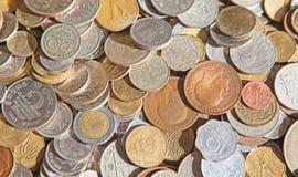 Oude muntstukken Stock Afbeelding