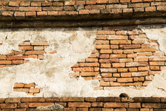 Oude muren Stupa Stock Foto