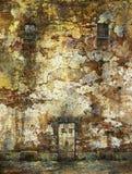 Oude Muur Stock Foto's
