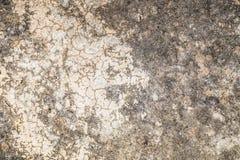 Oude muur concrete textuur en achtergrond Royalty-vrije Stock Afbeeldingen