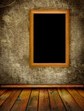 Oude muur en vloer royalty-vrije illustratie
