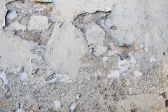 Oude muur met barstenachtergrond Stock Foto's
