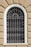 Oude muur met venster Royalty-vrije Stock Afbeeldingen