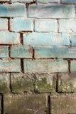 Oude muur van de achtergrond van de bakstenentextuur Royalty-vrije Stock Fotografie