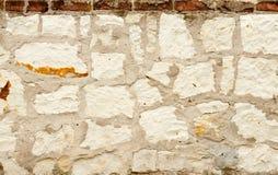 Oude muur van stenen Stock Foto