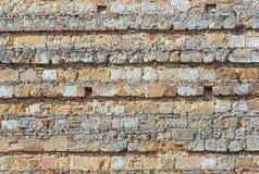 Oude muurachtergrond Stock Afbeelding