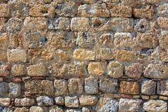 Oude muurachtergrond Stock Fotografie