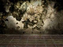 Oude muurtextuur Stock Afbeeldingen