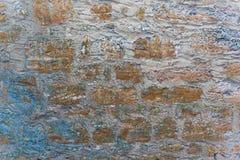 Oude muurtextuur als achtergrond Stock Afbeelding
