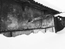 Oude muurtextuur stock foto
