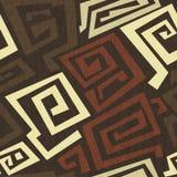 Oude naadloze textuur met grungeeffect Stock Foto's