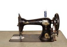 Oude naaimachine Stock Afbeelding