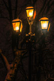 Oude nachtlamp Royalty-vrije Stock Foto