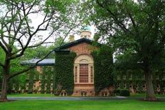 Oude Nassau Hall Princeton University royalty-vrije stock afbeelding