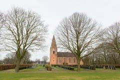 Oude Nederlandse kerk Royalty-vrije Stock Fotografie