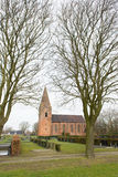 Oude Nederlandse kerk Stock Fotografie