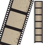 Oude negatieve filmstrook Royalty-vrije Stock Afbeelding