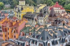 Oude Nieuwe stad - Vozdvijenka Royalty-vrije Stock Foto's