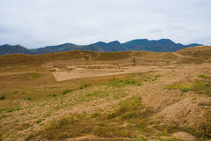Oude Nisa, Turkmenistan Stock Afbeelding
