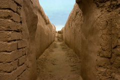 Oude Nisa, Turkmenistan Royalty-vrije Stock Fotografie