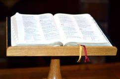 Oude Noordse Bijbel Royalty-vrije Stock Afbeelding