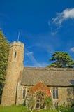 Oude Norfolk kerk Royalty-vrije Stock Fotografie