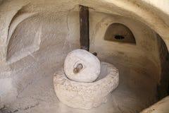 Oude olijfoliepers, Beit Guvrin Royalty-vrije Stock Afbeeldingen