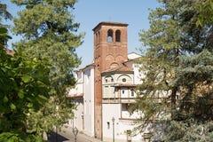 Oude Ommuurde Stad van Luca Royalty-vrije Stock Foto's