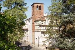 Oude Ommuurde Stad van Luca Royalty-vrije Stock Afbeeldingen