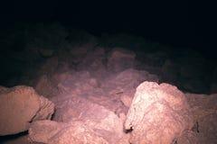 Oude ondergrondse passage royalty-vrije stock fotografie