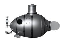 Oude onderzeeër Royalty-vrije Stock Foto's