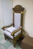 Oude oordeelzetel Royalty-vrije Stock Afbeelding