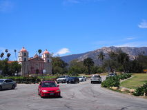 Oude Opdracht Santa Barbara California stock fotografie