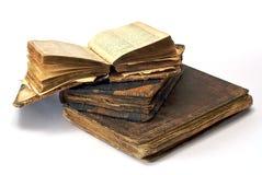 Oude open godsdienstige boeken Royalty-vrije Stock Fotografie