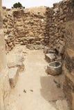 Oude opslag Minoan royalty-vrije stock afbeeldingen