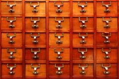 Oude organisator Royalty-vrije Stock Fotografie