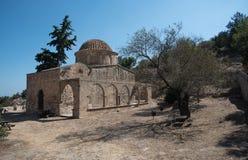 Oude Orthodoxe Christelijke kerk stock afbeelding