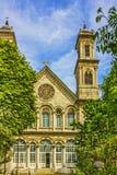 Oude Orthodoxe Christelijke kerk van Heilige Triada, Taxim-straat, Royalty-vrije Stock Foto