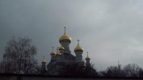 Oude orthodoxe kerk in Kiev. stock afbeeldingen