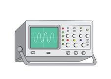 Oude oscilloscope3 Stock Foto