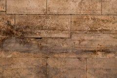 Oude oude bakstenen muur grunge Royalty-vrije Stock Foto's