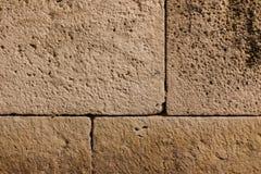 Oude oude bakstenen muur grunge Stock Afbeeldingen